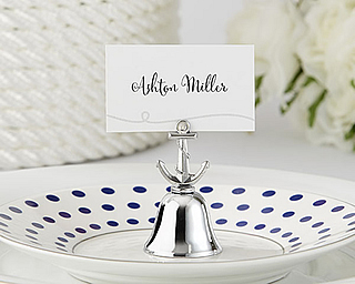 wedding kissing bell place card holders